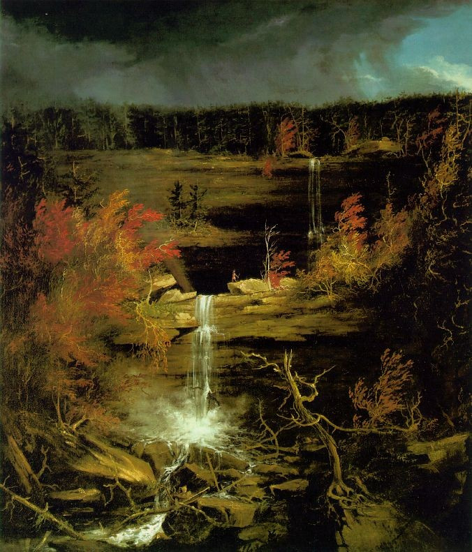 Kaaterskillの滝 (Thomas Cole)