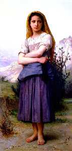 William Adolphe Bouguereau - ベルジェール 1886