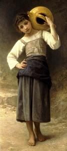 William Adolphe Bouguereau - 泉から女の子
