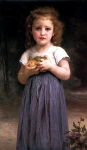 William Adolphe Bouguereau - 処女と子ども