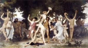 William Adolphe Bouguereau - バッカスの若さ