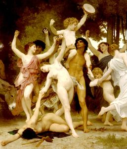 William Adolphe Bouguereau - 青少年センターバッカスDT