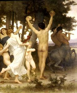 William Adolphe Bouguereau - バッカス右DTの若さ