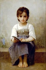 William Adolphe Bouguereau - ハードレッスン