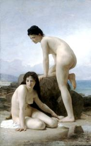William Adolphe Bouguereau - 2海水浴客