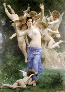 William Adolphe Bouguereau - 巣