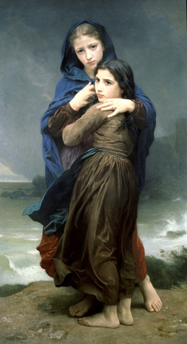 順序 絵画の複製 : Lorage バイ William Adolphe Bouguereau (1825-1905, France) | WahooArt.com