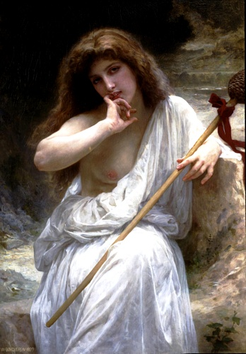 Mailice, オイル バイ William Adolphe Bouguereau (1825-1905, France)