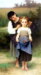 William Adolphe Bouguereau - パリュールフィールド