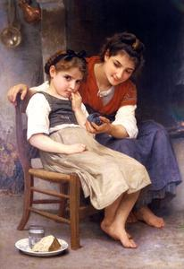 William Adolphe Bouguereau - 少し不機嫌