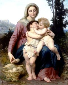 William Adolphe Bouguereau - 聖家族