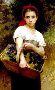 William Adolphe Bouguereau - 収穫機