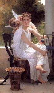 William Adolphe Bouguereau - 作業中断