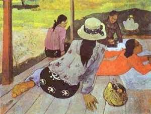 Paul Gauguin - シエスタ