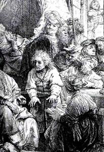 Rembrandt Van Rijn - ジョセフRacontantのSes Songes、ルーバー