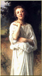 William Adolphe Bouguereau - 女の子