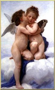 William Adolphe Bouguereau - 初めてのキス