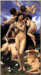 William Adolphe Bouguereau - ザー `return` の 春