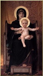 William Adolphe Bouguereau - 処​​女と子供