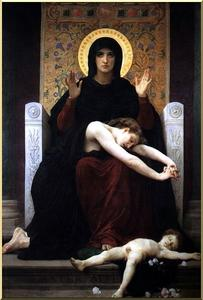 William Adolphe Bouguereau - 慰めの聖母
