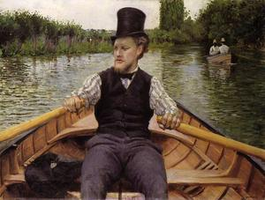 Gustave Caillebotte - ボートパーティー