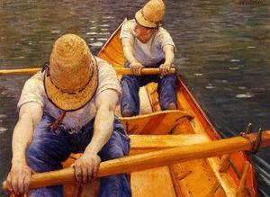 Gustave Caillebotte - oarsmanの複数形