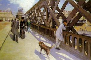 Gustave Caillebotte - ポン·デュ·ヨーロッパ