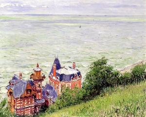 Gustave Caillebotte - トゥルーヴィルにあるヴィラ