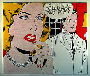 Roy Lichtenstein - 婚約