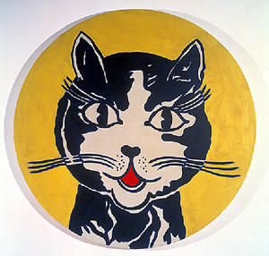 Roy Lichtenstein - 笑う猫