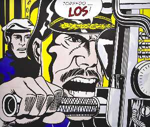 Roy Lichtenstein - 魚雷ロス