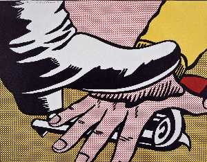 Roy Lichtenstein - 足と手