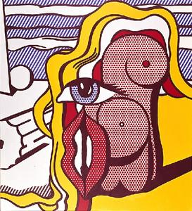 Roy Lichtenstein - 女性 図