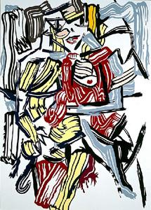 Roy Lichtenstein - 女性