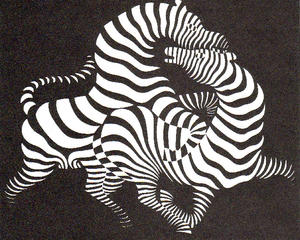 Victor Vasarely - シマウマ