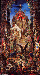 Gustave Moreau - 木星とセメル