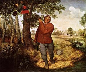 Pieter Bruegel The Elder - ザー 農民 そして `birdnester