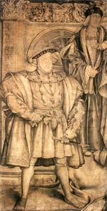 Hans Holbein The Younger - Henry VIII と Henry VII