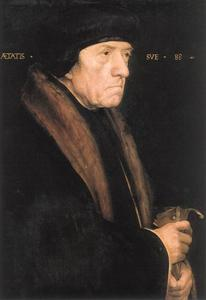 Hans Holbein The Younger - ジョン·チェンバースの肖像