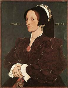 Hans Holbein The Younger - マーガレット·ワイアット、レディーリーの肖像