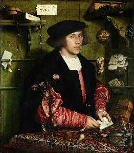 Hans Holbein The Younger - マーチャントゲオルクGiszeの肖像