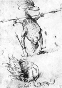 Hieronymus Bosch - 二つ Monsters1