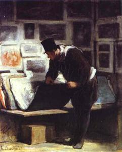 Honoré Daumier - エッチング素人