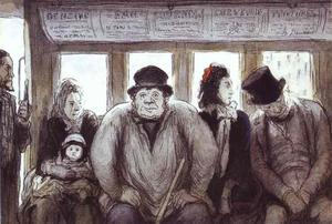 Honoré Daumier - オムニバスで