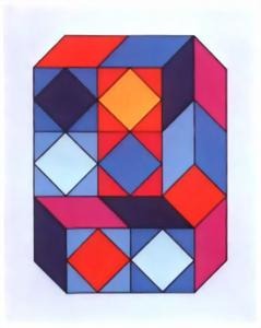 Victor Vasarely - VY-29-F
