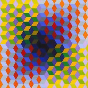 Victor Vasarely - ヨン
