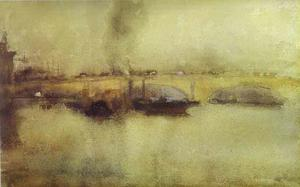 James Abbott Mcneill Whistler - ロンドンブリッジ