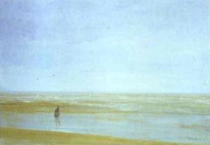 James Abbott Mcneill Whistler - 海 と 雨