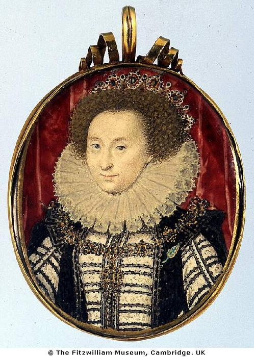 不明の 女性, 原油 バイ Nicholas Hilliard (1577-1619, United Kingdom)