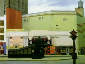 Edward Hopper - 円 劇場